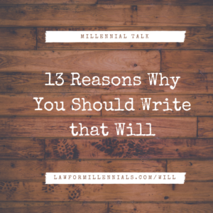 13 Reasons Why You Should Write that Will